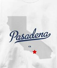 Pasadena, California CA MAP Souvenir T Shirt All Sizes & Colors