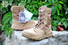 TACTICAL Men's CQB HUNTING LIGHTWEIGHT MILITARY COMBAT SHOES LEATHER ANKLE BOOTS