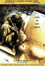 Black Hawk Down (DVD, 2002) 2 Academy Awards Includes Special Features