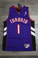 Tracy McGrady #1 Toronto Raptors Purple Jersey Throwback Vintage Classic Retro
