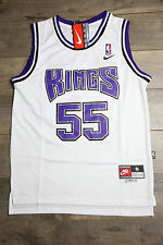 Jason Williams #55 Sacramento Kings Jersey Throwback Vintage Classic Retro White