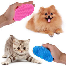 Dog Cats Pet Grooming Massage Glove Bath Brush Hair Grooming Comb Cleaning Too