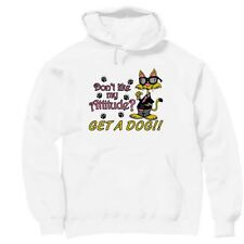 Pullover Hooded Hoodie Sweatshirt novelty Don't like my attitude get a dog
