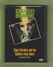 David Bowie FACTORY SEALED  Ziggy Stardust+Spiders Motion Picture DVD