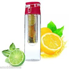 700ML Fruit Infusing Infuser Sport Healthy Lemon Bottle with Flip Lid