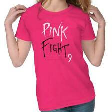 Breast Cancer Awareness Pink Fight Breast Cancer Ribbon Gift Ladies T-Shirt