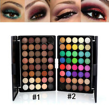 New 40 Colors Eyeshadow Makeup Cosmetic Matte Shimmer Nature Eye Shadow Palette