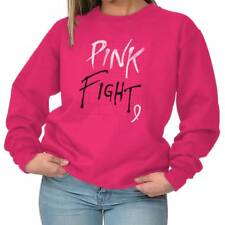 Breast Cancer Awareness Pink Fight Breast Cancer Ribbon Gift Sweatshirt