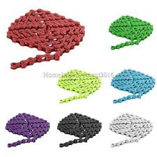 "Colorful Fixed Gear Track Bicycle Chain Single Speed Bike 96 Links 1/2"" x 1/8"