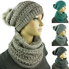 TEA 3 piece Ladies Winter set Scarf Hat Gloves Gift idea Cap set