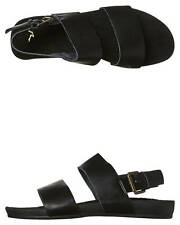 New Rusty Women's Nicola Leather Sandal Leather Womens Shoes Black