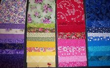 """*Rainbow Collection 4"""" Quilt Quilting Squares Cotton 4"""" New**Lovely USA*"""