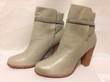 Joie Rigby Criss Cross Ankle Bootie 39.5 Taupe New with Defects