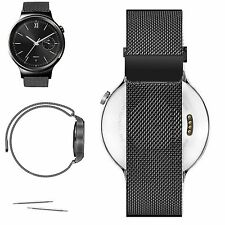 Milanese Magnetic Loop Stainless Steel Watch Band Clasp For Huawei Smart Watch