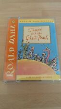 ROALD DAHL JAMES AND THE GIANT PEACH PUFFIN AUDIOBOOKS ANDREW SACHS 2X CASSETTES