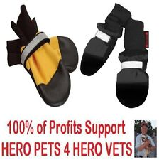 MuttLuks All Weather or Fleece Lined Fall Weather Dog Boots Multiple Sizes
