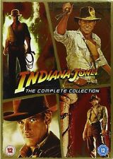 Indiana Jones - The Complete Collection (DVD, 6-Disc Set, original trilogy +CS)