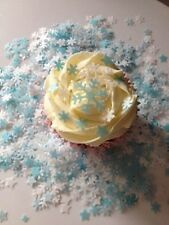 120 Snowflake cake toppers