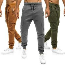 OZONEE ATH-707 Men's Jog Pants Or Casual Trousers Chinos Trackies Jogger Baggy