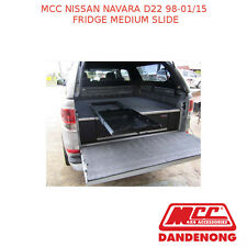 MCC BULLBAR FRIDGE MEDIUM SLIDE SUIT NISSAN NAVARA D22 (1998-01/2015)