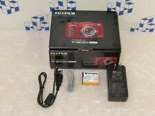 Fujifilm FinePix F900EXR 16.0 MP Digital Camera Red F/S from Japan