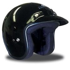 THH T-380 Open Face Motorcycle Helmet - Gloss Black
