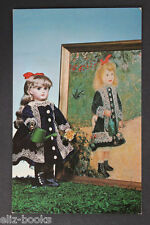 """""""Girl with a Watering Can"""" by Renoir TETE JAMEAU Doll Photo Postcard #065"""
