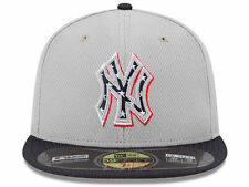 New York Yankees July 4th New Era 59Fifty Fitted On-Field Mesh Baseball Hat Cap