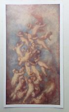 ORIGINAL 1903 'THE STUDIO' OIL PAINTING ' TRIFLES LIGHT AS AIR ' BY G. F. WATTS