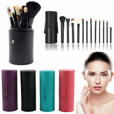 12Pcs Pro Cosmetic Makeup Brushes Tool Kit Set Eyeshadow Lip Powder Concealer