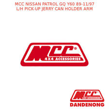 MCC BULLBAR L/H PICK-UP JERRY CAN HOLDER ARM SUIT NISSAN PATROL GQ Y60(89-11/97)