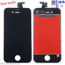 Replacement LCD Touch Screen Digitizer Glass Assembly for iPhone 4S +8pcs Tools