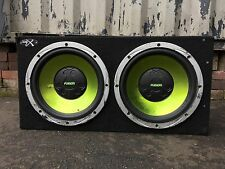 Car Twin Sub And Amp Fusion Speakers Sony Xplod Amp