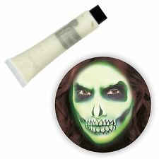 Glow in the Dark Cream Make Up Neon Tube Halloween Green Zombie Witch Skin New