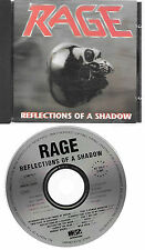 "RAGE original CD ""Reflections of a shadow"" 1990 on Noise International"