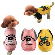 Dog Cat Sweater Puppy Winter Warm Coat T-Shirt Pet Clothes Dog Apparel Costumes