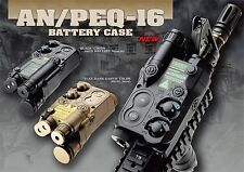 AN PEQ-16 AEG Dummy LiPo NiMH NiCD RAS RIS Battery Case Box For Airsoft NiMH #GY