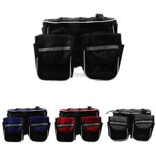 Cycling Bike Bicycle Top Frame Pannier Front Tube Double Saddle Bag Pack
