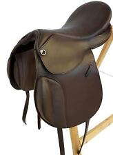 General Purpose Treeless Saddle Boston, Brown, New, Leather