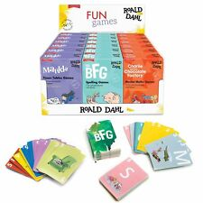 ROALD DAHL FUN GAMES - Maths|Spelling|Stories Cards Kids Gift **FREE DELIVERY**