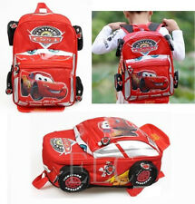 Disney Cars Backpack Pixar Lighting Mcqueen Bags Boys Kids Preschool Schoolbag