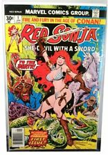 VERY POPULAR * Red Sonja #1 * Marvel Comics 1977 * Conan Spin-Off Thome Art