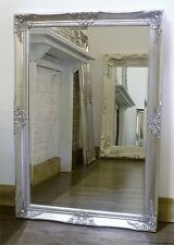 Gerona Silver Shabby Chic Rectangle Vintage Wall  Mirror 35