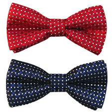 School Boy Kids Children Baby Wedding Bowtie Satin Pre Tied Bow Neck Tie Necktie