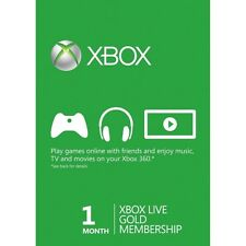 Xbox Live 1 Month Gold Worldwide Code Instant Dispatch Delivery Within Seconds