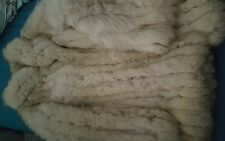 vintage genuine blue/silver fox fur coat