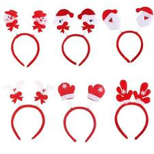 Christmas Santa/Snowman/Deer Elk Headband Fancy Head Hair Hoop Xmas Party Favor