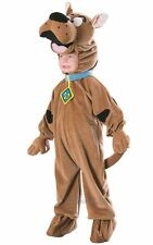 Childs Deluxe Scooby Doo Fancy Dress Costume Boys Brown TV and Film Costumes