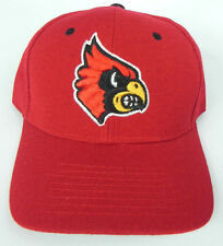 LOUISVILLE CARDINALS RED NCAA VINTAGE FITTED SIZED ZEPHYR DH CAP HAT NWT!