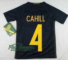 Socceroos 2016/17 Kid's Away Jersey by Nike - Tim CAHILL #4 Printing
